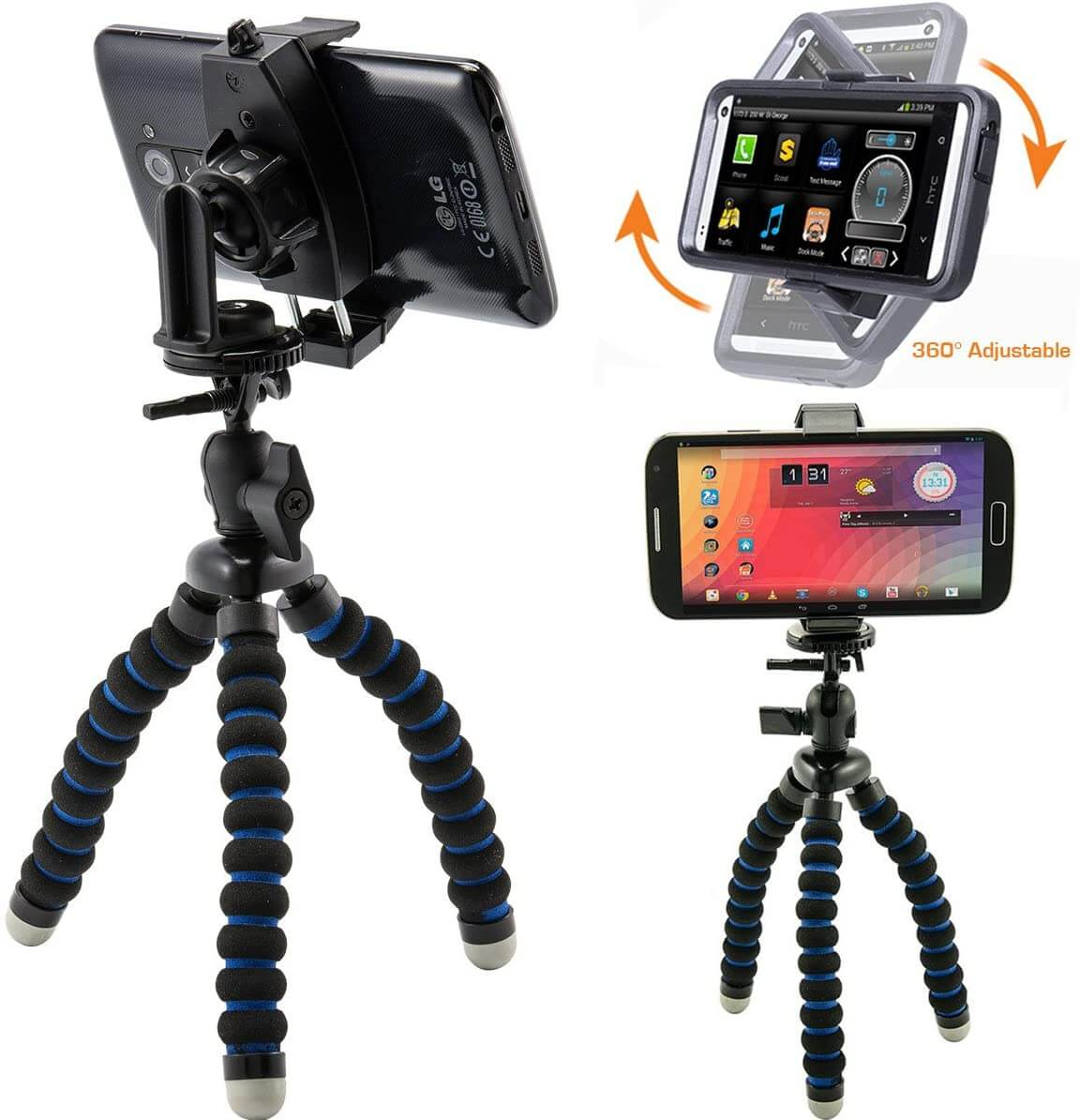 ChargerCity MegaGrab2 Flexible Tripod
