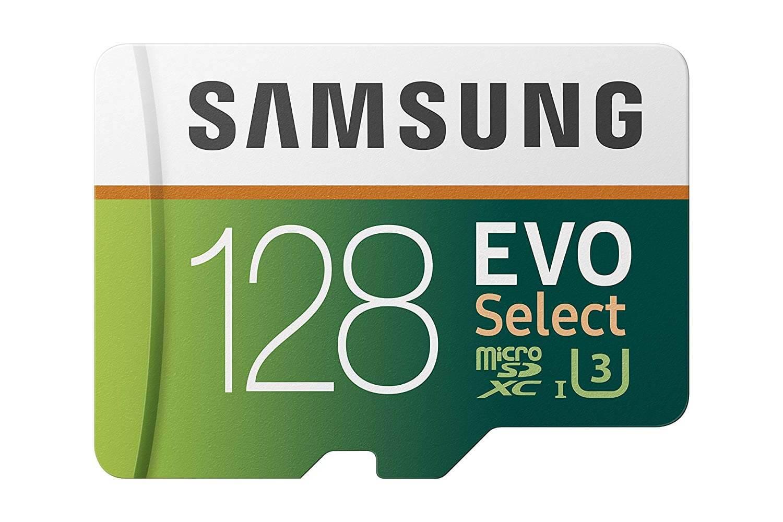 Samsung MicroSDXC EVO Select Memory Card