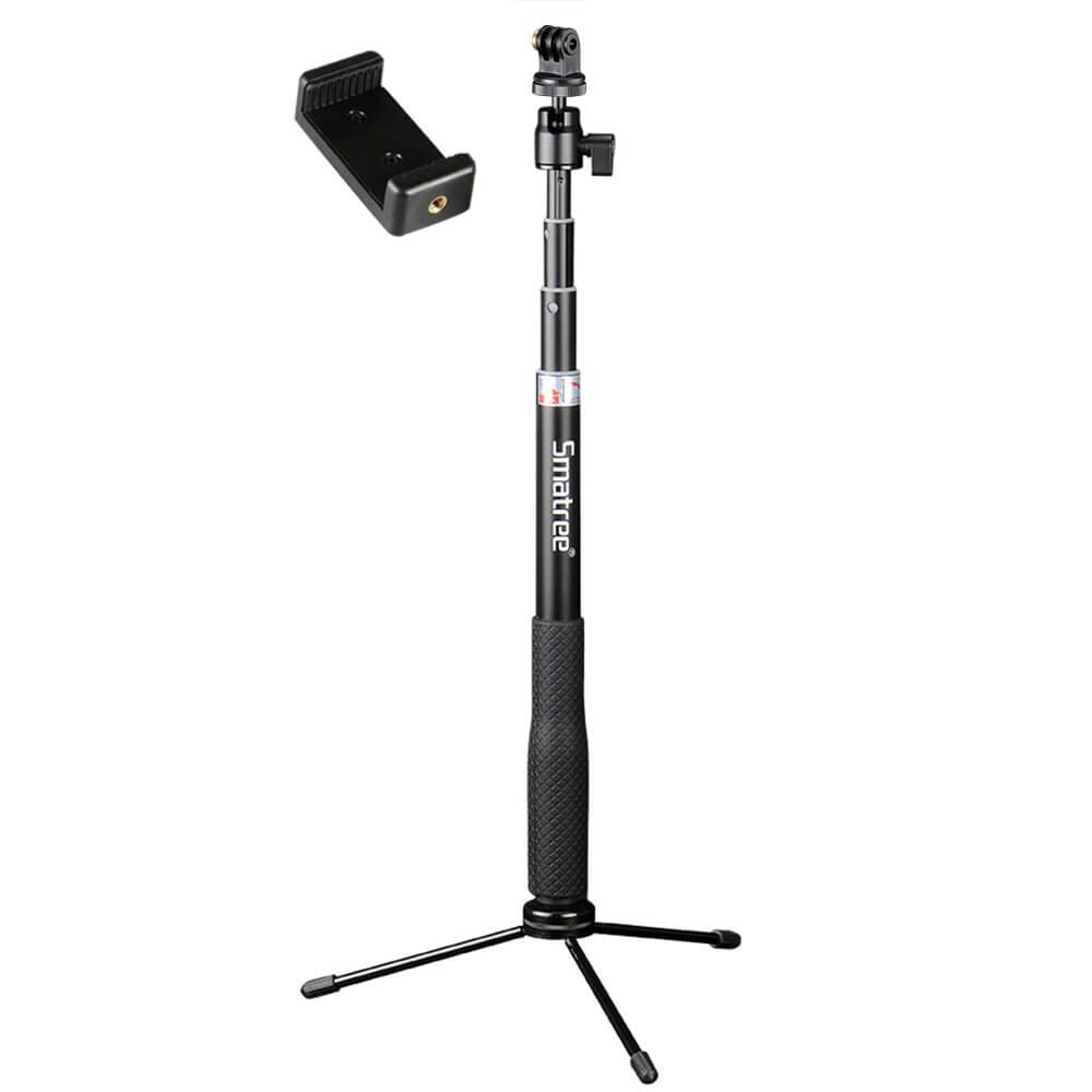 Smatree Q3 Telescoping Selfie Stick with Tripod Stand