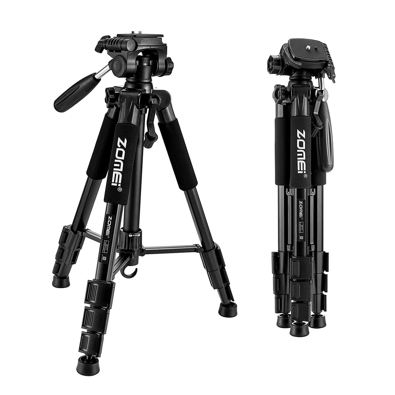 ZOMEI Travel Portable Aluminum Camera Tripod
