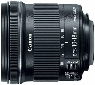Canon EFS 10-18mm f 4.5-5.6 IS STM Lens