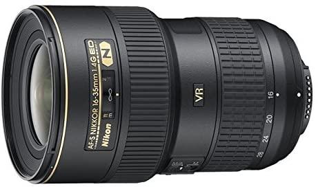 Nikon AF-S FX NIKKOR 16-35mm f 4G ED Vibration Reduction Zoom Lens