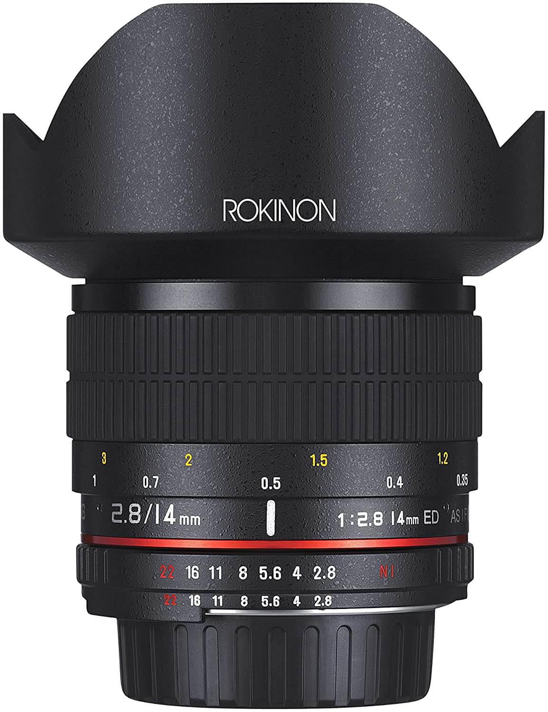 Rokinon 14mm f 2.8 IF ED UMC Ultra-Wide-Angle Fixed Lens