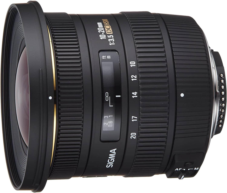 Sigma 10-20mm f 3.5 EX DC HSM ELD SLD Aspherical Super Wide Angle Lens