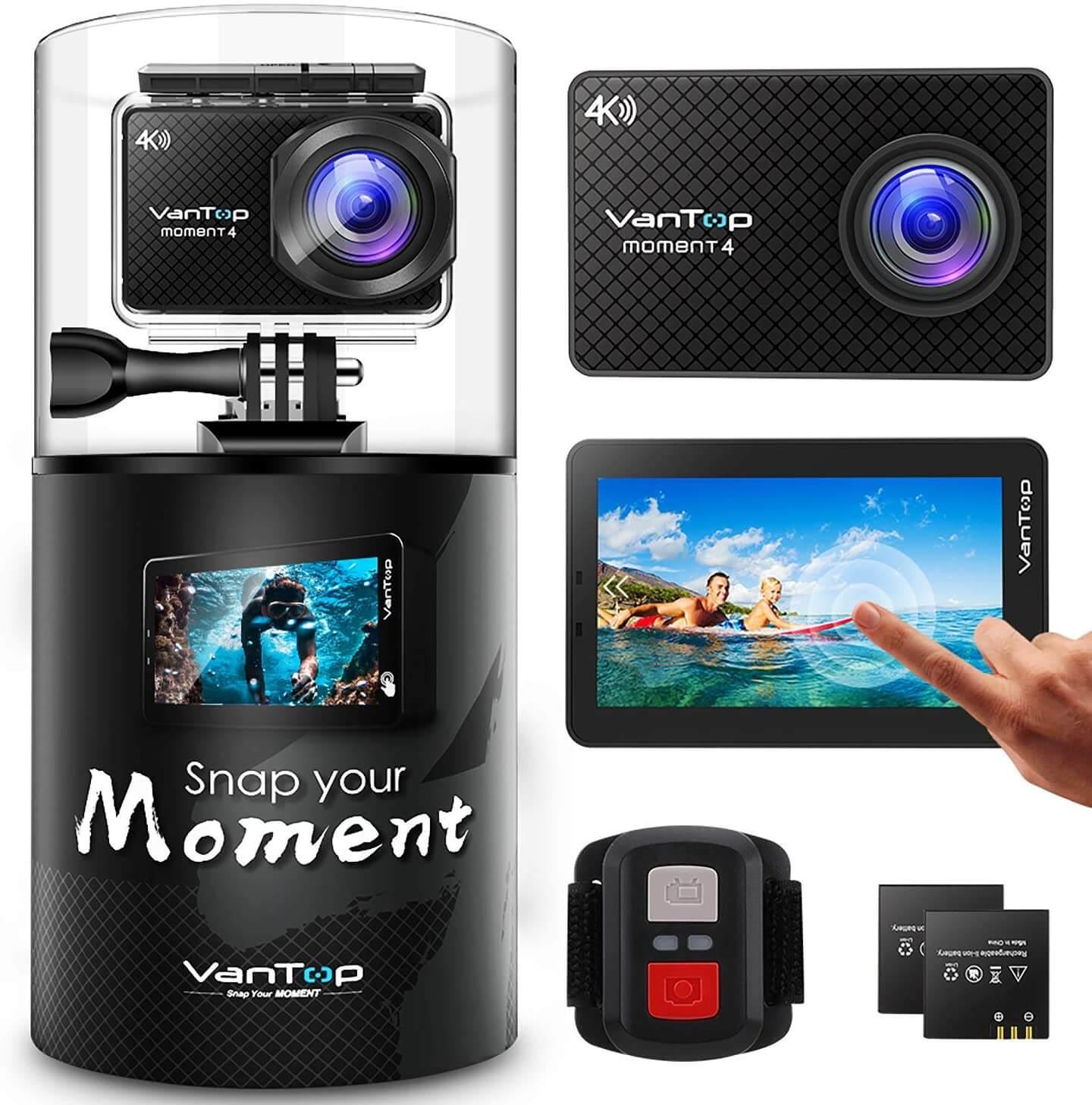 VanTop 4K Action Camera