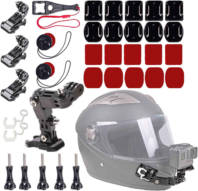 WLPREOE 37 in1 Motorcycle Helmet Mount Kits